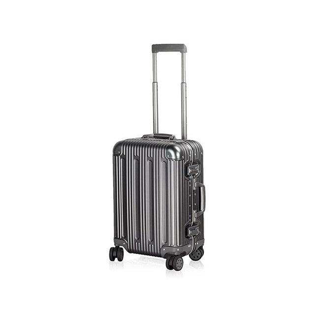 100% Aluminium Multi-Size All Aluminum Hard Shell Luggage Travel Suitcase Case Carry On Spinner