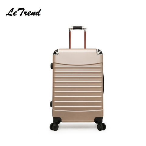 Fashion 20/24 Inches Trolley Boarding Case Pc Colourful Travel Waterproof Luggage Rolling