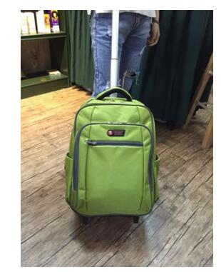 20 Inch Wheeled Backpacks Rolling Luggage Bags For Women Trolley Backpack Cabin Size Carry-On