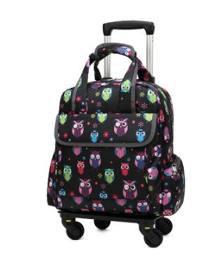 Wheeled Trolley Bag Travel Luggage Bag Carry On Luggage Bag Travel Boarding Bag With Wheel Travel