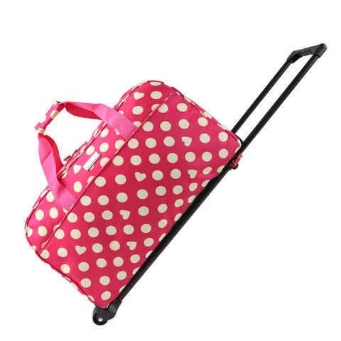 Trolley Bag Travel Stand Abreast Bag Female Handbag Male Luggage Big Capacity Barrels Waterproof