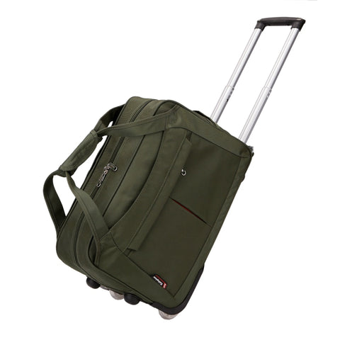 Wholesale!20 22 Inches Oxford Waterproof Trolley Travel Luggage Bags On Fixed Caster,Men And Women