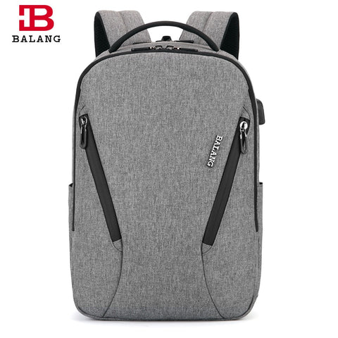 Balang Brand 2019 New Laptop Backpack Multifunction Usb Charging Men Backpack For 15.6 Inch Fashion