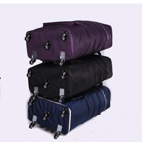 Light Trolley Checked Bag Male Big Capacity Waterproof Portable Wheel Bag Travel Bag,32 Inch Moving