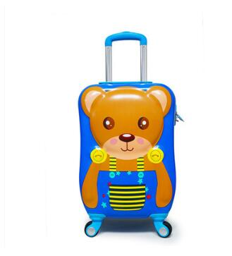 Kid Suitcase For Travel Luggage Suitcase Wheels Bag Kids Trolley Case Carry On Baggage Spinner