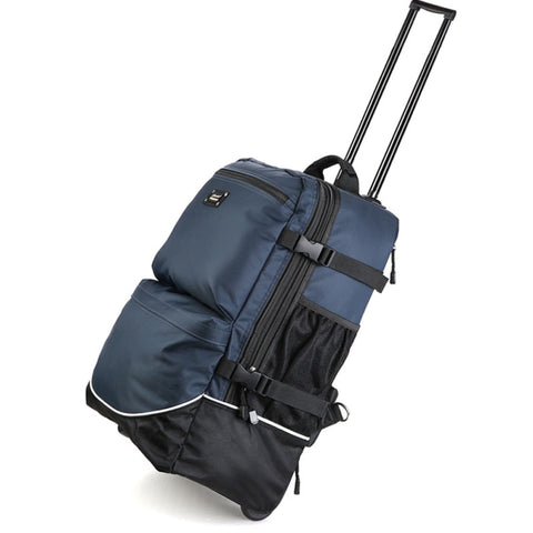 Trolley Backbag Large Capacity Trolley Case,Multi-Function Luggage,Wheeled Travel Valise,Boarding