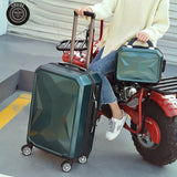 Private Custom 2Pc/Set Lovely 20/24/26/28Inch Pc Handbag And Rolling Luggage Fashion, High