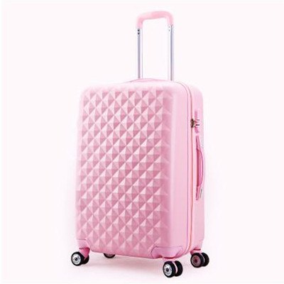 Wholesale!14 20Inches Abs Hardside Case Trolley Luggage,Pink/Green/Hot Pink/Blue/Purple Candy Color