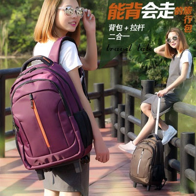 Travel Tale High Quality, Waterproof, Durable, Short-Distance Travel Rolling Luggage Nylon Business