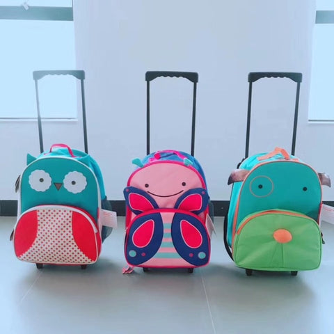 Animal Paradise Children'S Luggage,Lightweight Luggage Suitcase,Primary School Cartoon Shoulder