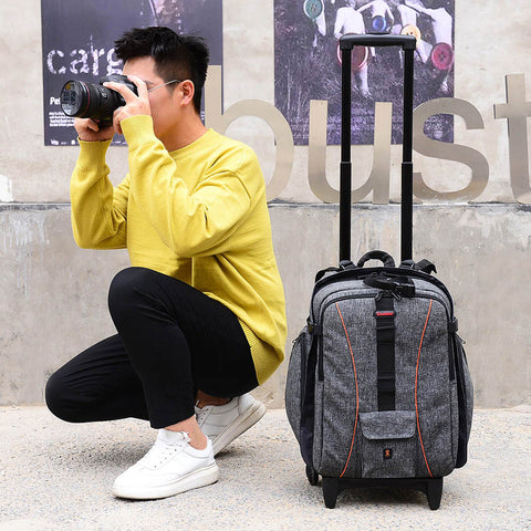 Travel Tale Shoulders Multifunction Photography Travel Bag Photographer Professional Backpack