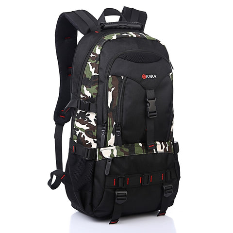 Multi-Function Men Backpack Oxford Bag Waterproof Shoulder Bags Computer Packsack Large Capacity