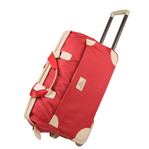 New Arrival!Male And Female Large Capacity Trolley Luggage Bag On Fixed Caster,High Quality