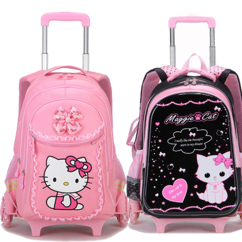 Luggage,Children'S School Bag, Girl Trolley Case 3-6, Trolley Bag For Children Under 12 Years