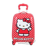 Brand Hello Kitty Cartoon 18 Inch Students Travel Trolley Case Children Boarding Box Anime Girl