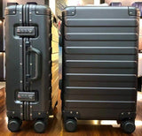 "Travel Tale 20"" Inch 100% Aluminium Travel Suitcase Spinner Carry On Luggage Trolley On Wheel"