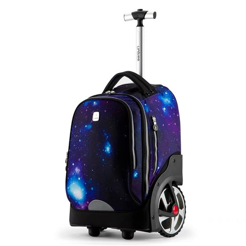 2018 New Kids Cartoon Trolley Bag On Big Wheels Vs Trolley Suitcases And Travel Bags Boys&Girls