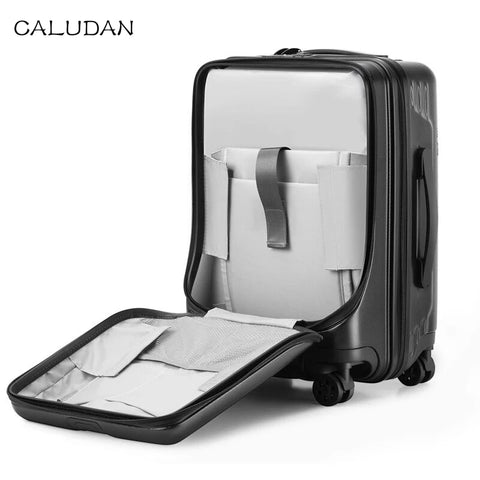 New Hot Travel Suitcase ,Students Cabin Rolling Luggage With Laptop Bag,Women Trolley Travel Bag