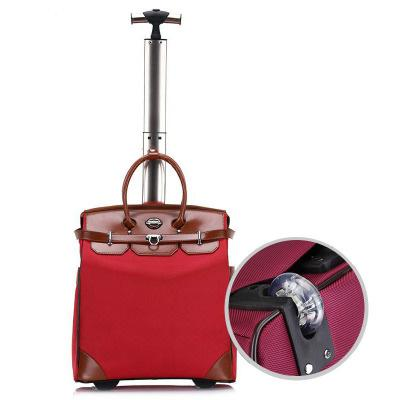 Women Small Carry-On Wheeled Travel Bag Fixed/Spinner Wheels Trolley Bag High Quality Travel