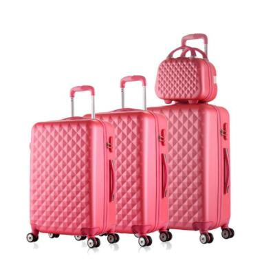 "Carrylove 20""24""28"" Inch Abs Luggage Set Cheap Trolley Case Travel Suitcase Set On Wheels"