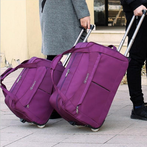 Trolley Luggage, Fashion Female Handbag, Large Capacity Waterproof Cases,Suitcase Bag Fashion