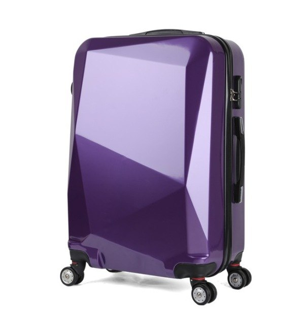 "Caludan  20"" 24"" 28"" Spinner Trolley Travel Bag Travel Suitcase Set Abs Luggage On Wheels Free"