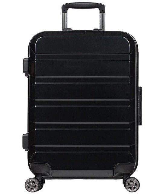 Trolley Case 24 Inch 80L Travel Luggage Men Suitcase Trolley Universal Wheel Password Box Anti