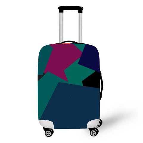 Pentagon Abstract - Luggage Cover From Luggage Factory