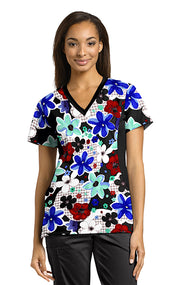 722FMN Printed Scrub Top LIMITED