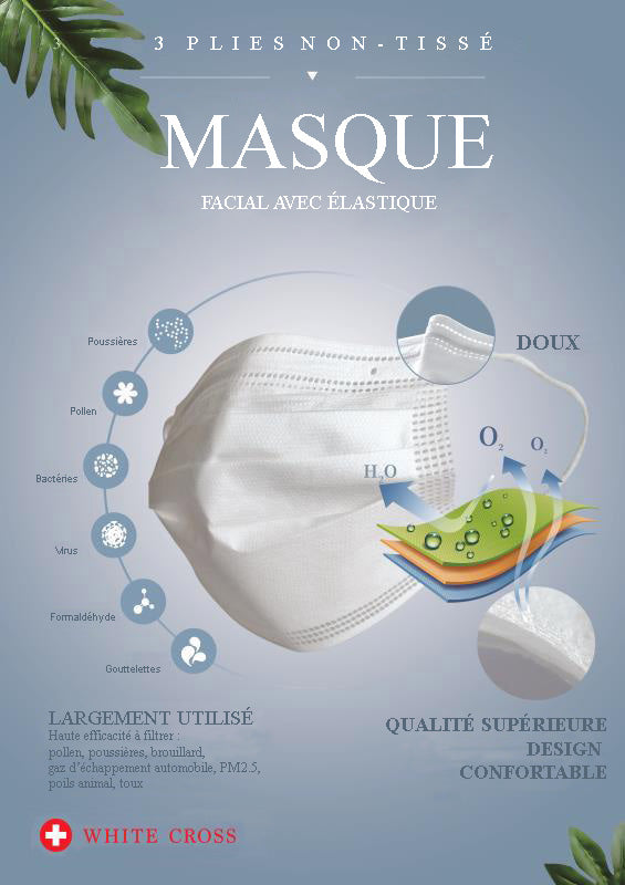 Masque Chirurgical 50 unités