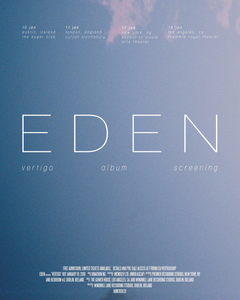 10/01/18 - Dublin, IE - The Sugar Club - EDEN vertigo Album Screening Event