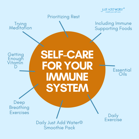 Self Care Routine That Strengthens Immune System