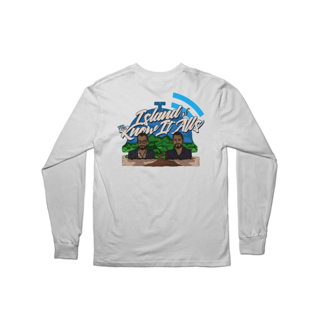 Island of the Know It Alls Longsleeve Shirt