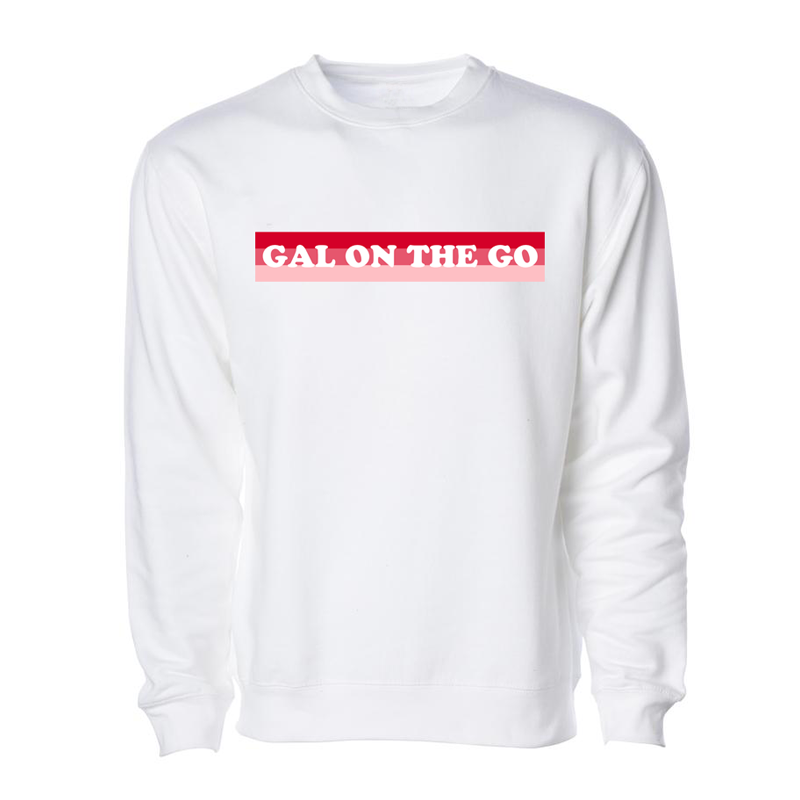 Gal On The Go Crewneck Sweatshirt
