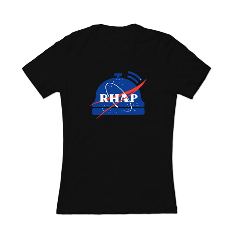 RHAP NASA Female T-Shirt