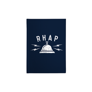 RHAP White Bell Notebook