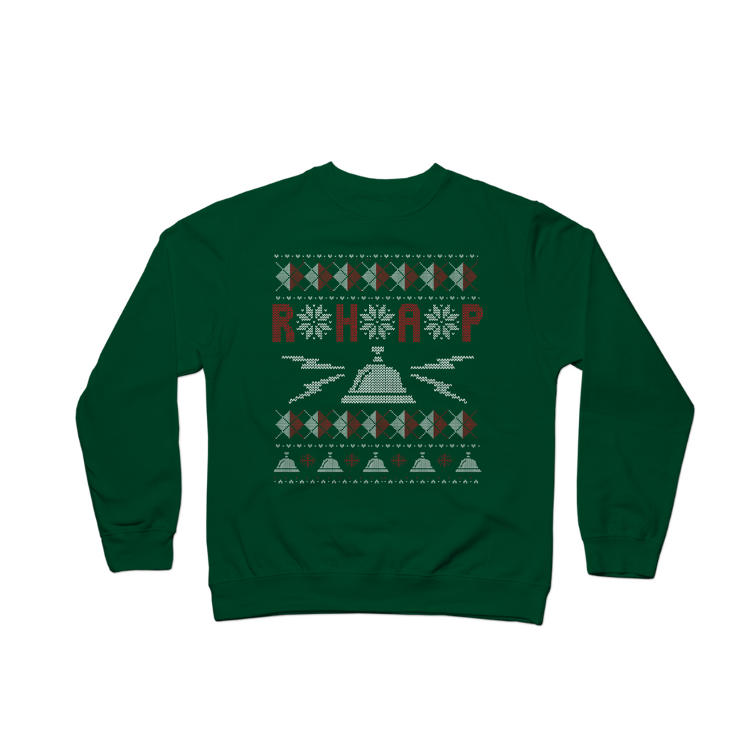 RHAP Holiday Sweater Crewneck Sweatshirt