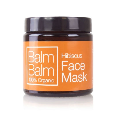 Hibiscus face mask