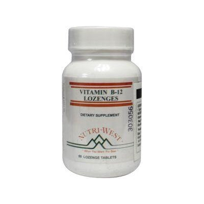 Nutri West Vitamine B12 lozenge 60 Tabletten