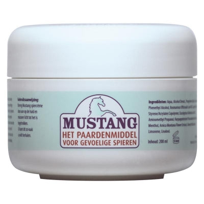 Jacob Hooy Mustang Spiercreme 200ml