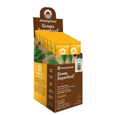 Amazing Grass Chocolate green superfood 15 Sachets