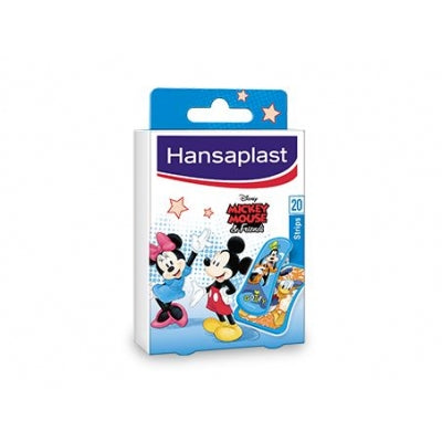 Hansaplast Pleisters junior Mickey mouse 20 Stuks