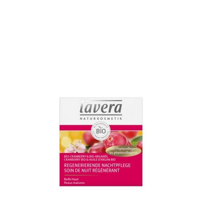 Lavera Nachtcreme/Night cream regenerating cranberry F-D 50 ml