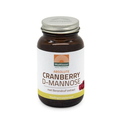 Cranberry D-mannose met berendruif extract