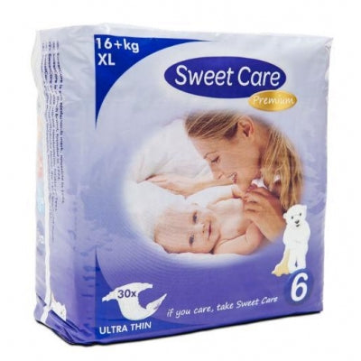 SWEETCARE LUIERS ULT.D XL 6 30 ST