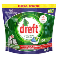 Dreft Vaatwas all in 1 original 100 Stuks