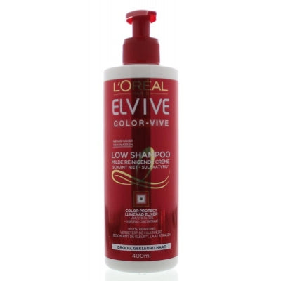Loreal Elvive color vive low shampoo 400 ml