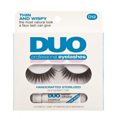 DUO Kunstwimpers professional eyelash kit 12 1 Set