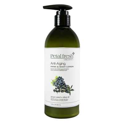 Hand & body lotion grape seed & olive oil