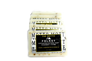 Rosemary + Thyme Natural Bar Soap